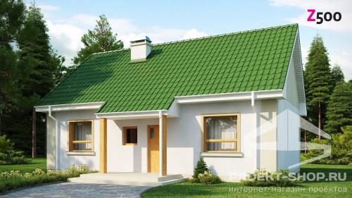 Проектирование небольшого финского уютного домика