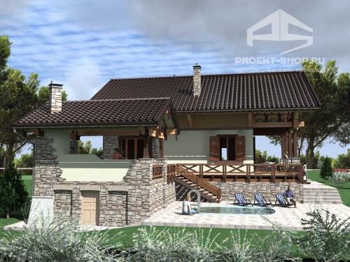 Типовой проект жилого домаПересветик