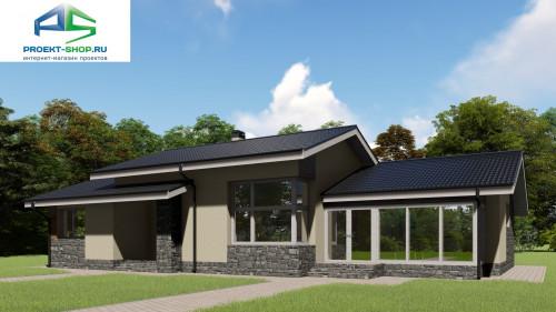 Типовой проект жилого дома2-105