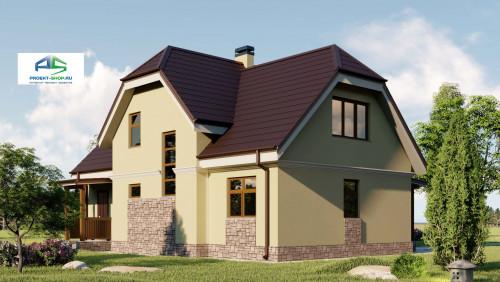 Типовой проект жилого дома2-165