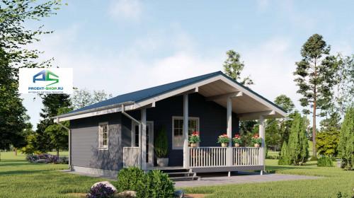 Типовой проект жилого дома2-166