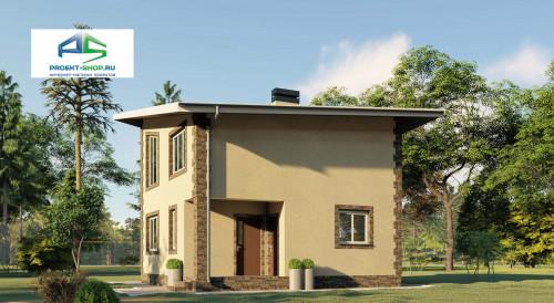 Типовой проект жилого дома2-167