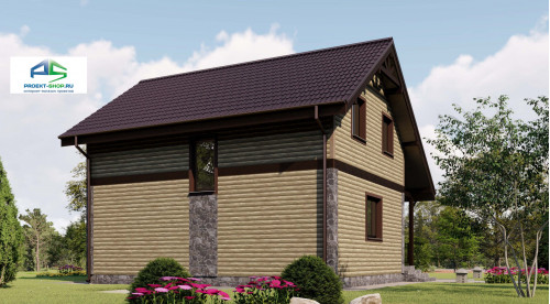 Типовой проект жилого дома2-168