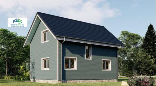 Типовой проект жилого дома2-169