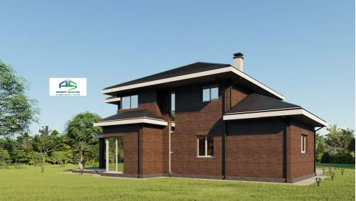Типовой проект жилого дома2-170