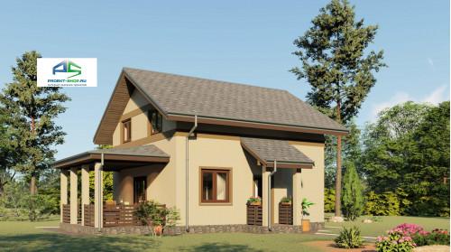 Типовой проект жилого дома2-171