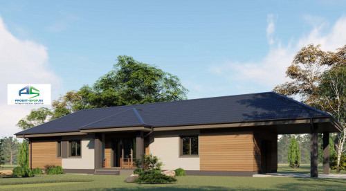 Типовой проект жилого дома2-172