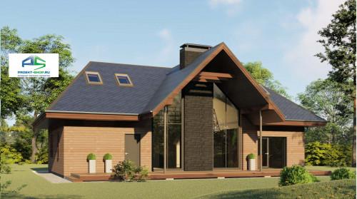 Типовой проект жилого дома2-173