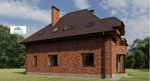 Типовой проект жилого дома2-177