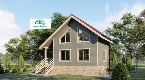 Типовой проект жилого дома2-178