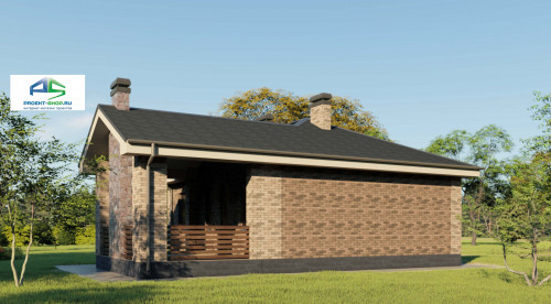 Типовой проект жилого дома2-179