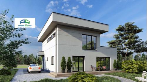Типовой проект жилого дома2-182