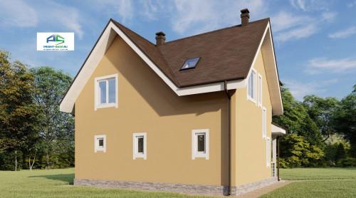 Типовой проект жилого дома2-183