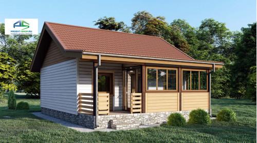 Типовой проект жилого дома2-186