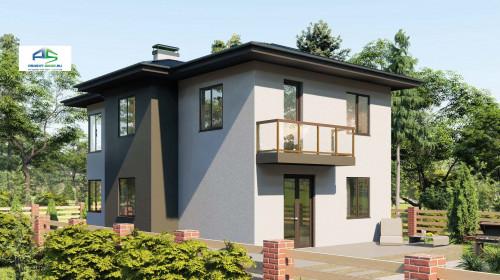 Типовой проект жилого дома2-194