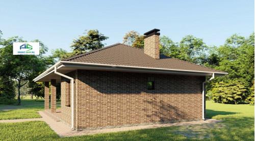 Типовой проект жилого дома2-198