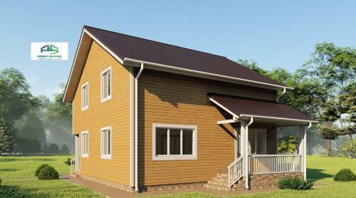 Типовой проект жилого дома2-201
