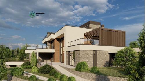 Типовой проект жилого дома2-203