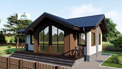 Типовой проект жилого дома2-207