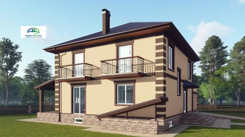 Типовой проект жилого дома2-210
