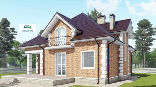 Типовой проект жилого дома2-211