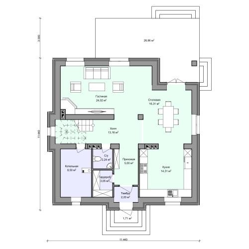 Планировка проекта 2-211