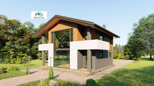 Типовой проект жилого дома2-212