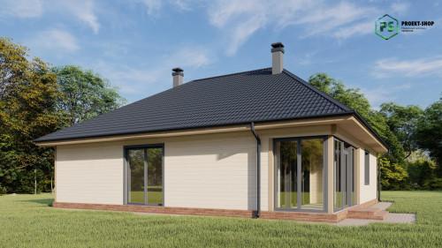 Типовой проект жилого дома2-23