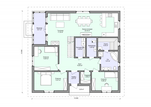 Планировка проекта 2-23