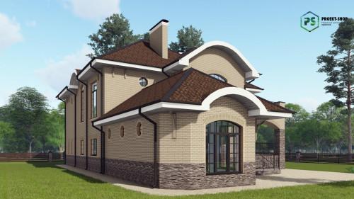 Типовой проект жилого дома2-26