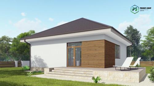 Типовой проект жилого дома2-33