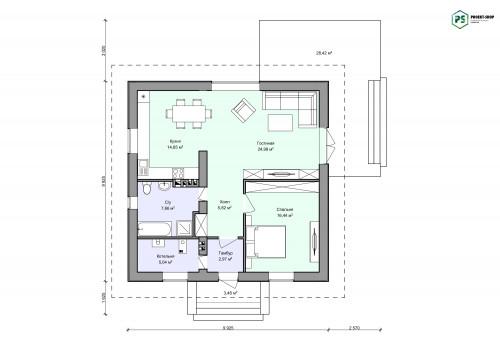Планировка проекта 2-33