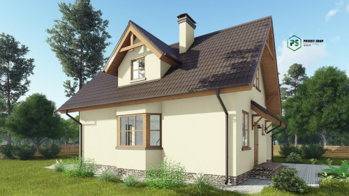 Типовой проект жилого дома2-38