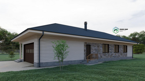 Типовой проект жилого дома2-44