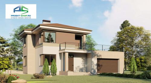 Типовой проект жилого дома2-51