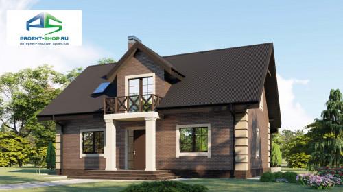 Типовой проект жилого дома2-52