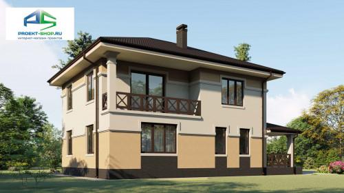 Типовой проект жилого дома2-64