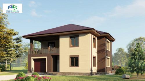 Типовой проект жилого дома2-66