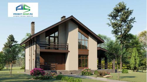 Типовой проект жилого дома2-68