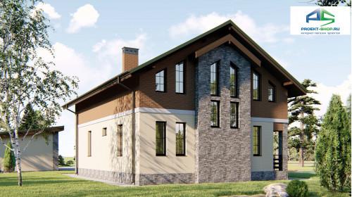Типовой проект жилого дома2-70