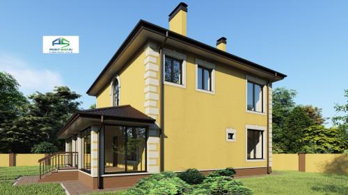 Типовой проект жилого дома2-73