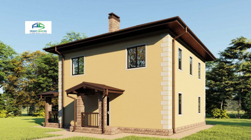 Типовой проект жилого дома2-79