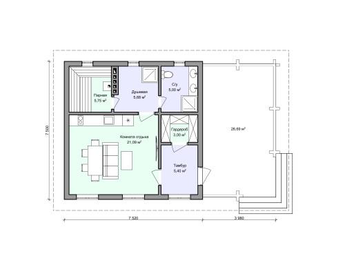 Планировка проекта 2-82