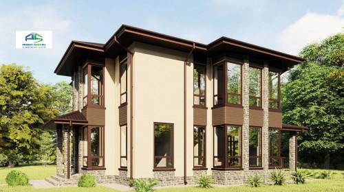 Типовой проект жилого дома2-83