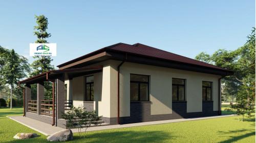 Типовой проект жилого дома2-90