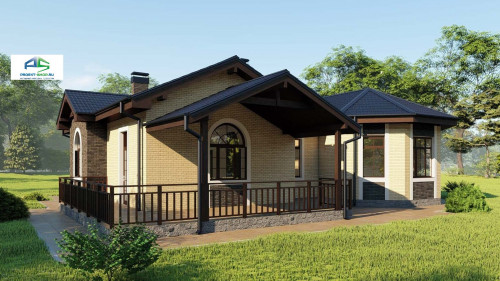 Типовой проект жилого дома2-91
