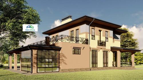Типовой проект жилого дома2-94
