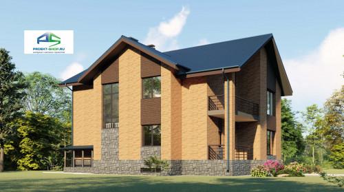 Типовой проект жилого дома2-96