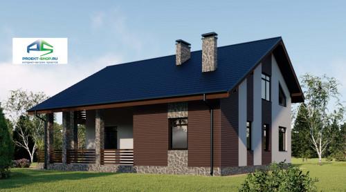 Типовой проект жилого дома2-98