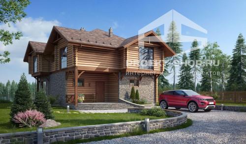 Типовой проект жилого домаA017